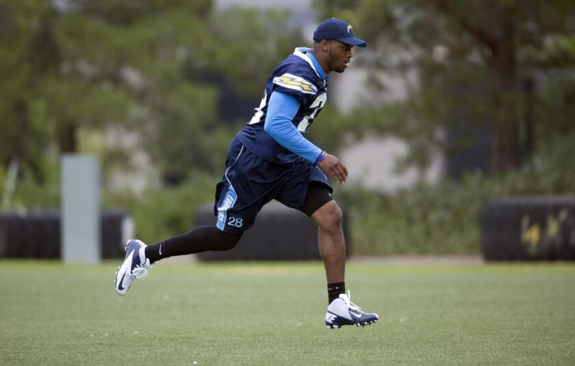 Chargers safety Brandon Taylor devoted his offseason to recovering from a torn ACL.