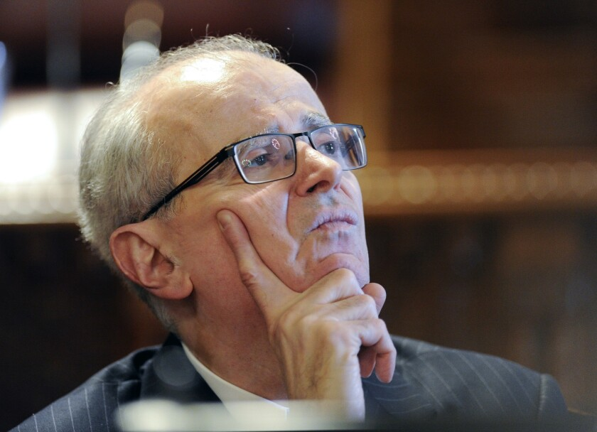 New York Chief Judge Jonathan Lippman, seen here during a Law Day event on May 5, announced that his state would start using the Uniform Bar Exam.