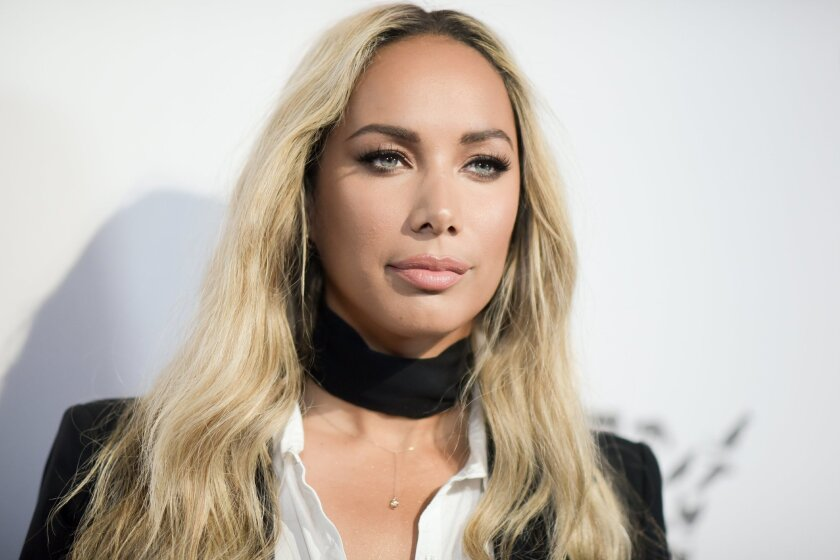 """FILE - In this May 7, 2016 file photo, Leona Lewis attends """"To the Rescue: Saving Animal Lives"""" Gala and Fundraiser in Los Angeles. Lewis will play the ragged and lonely star Grizabella in the Broadway revival of the Andrew Lloyd Webber musical """"Cats."""" Previews begin July 14 and opening night is Ju"""