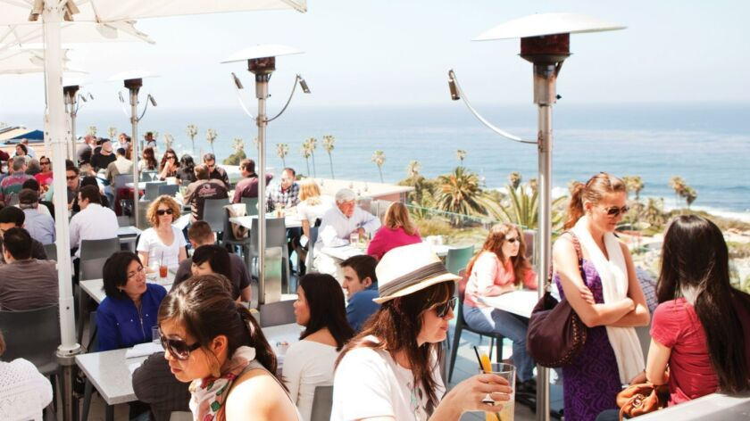 Summer must: Ocean view dining at Georges Ocean Terrace in La Jolla. Courtesy photo