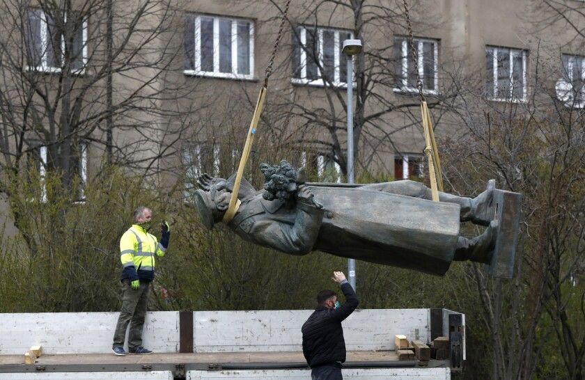 Czech Republic Russia Statue Dispute