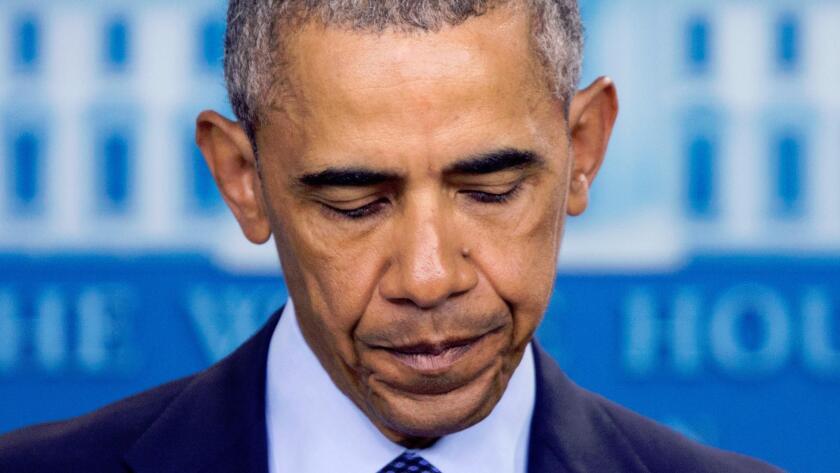 President Obama addresses the mass killings in Orlando, Fla.