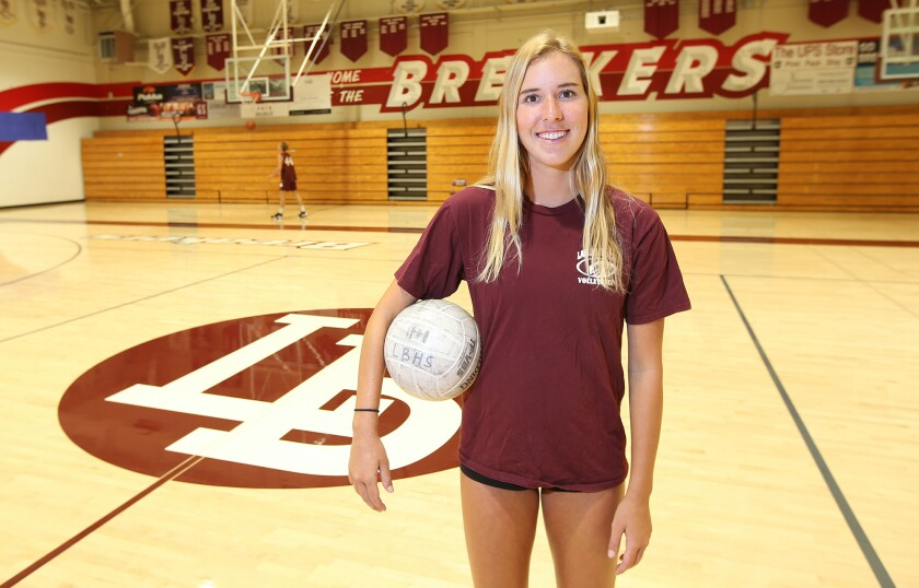 High School Female Athlete of the Week: Piper Naess powers Laguna Beach volleyball up the CIF poll