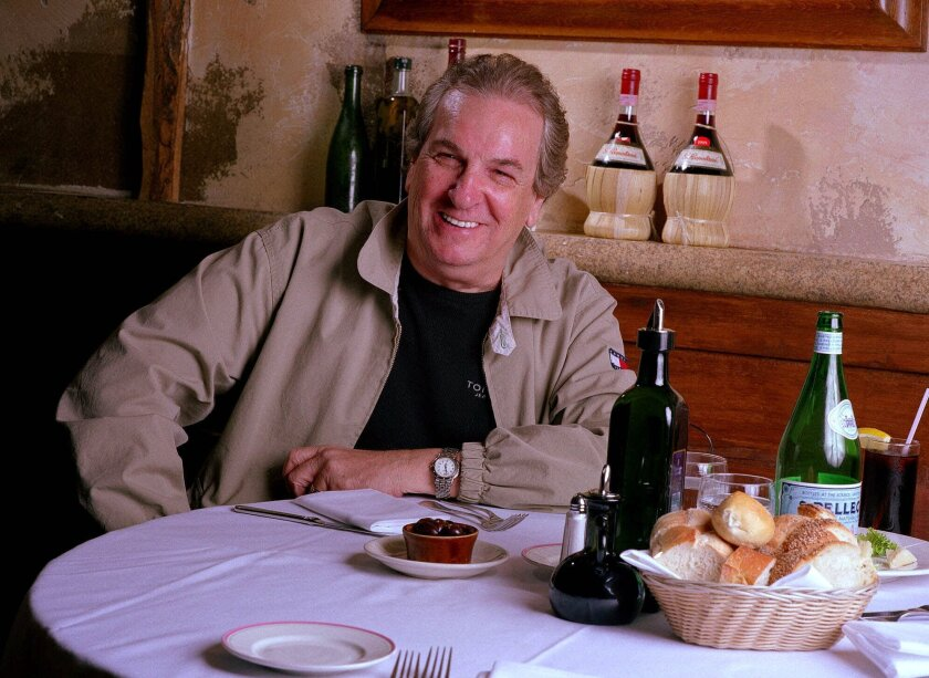 Danny Aiello, shown in 2001, died Thursday after a short illness.