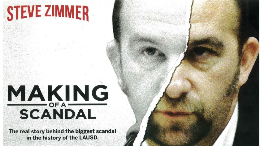 """L.A. school board President Steve Zimmer: killer, school board member or both? A campaign mailer targeting Zimmer uses iconic imagery from advertising for the Netflix series """"Making a Murderer."""""""