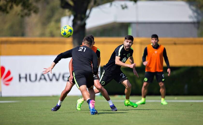 Las Águilas se alistan para su choque de la fecha 5 del Clausura 2017, ante el Morelia.