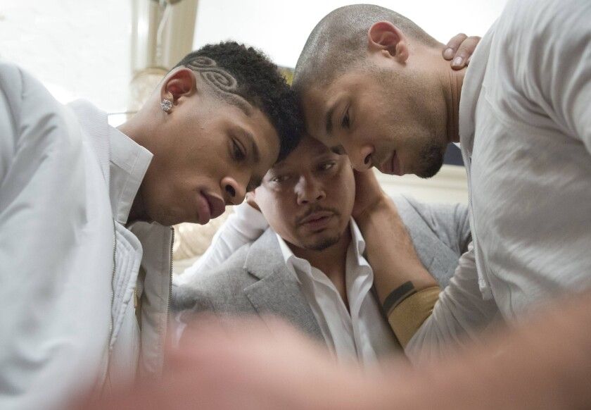 Empire' recap: Lucious takes a tumble, Andre bawls uncontrollably