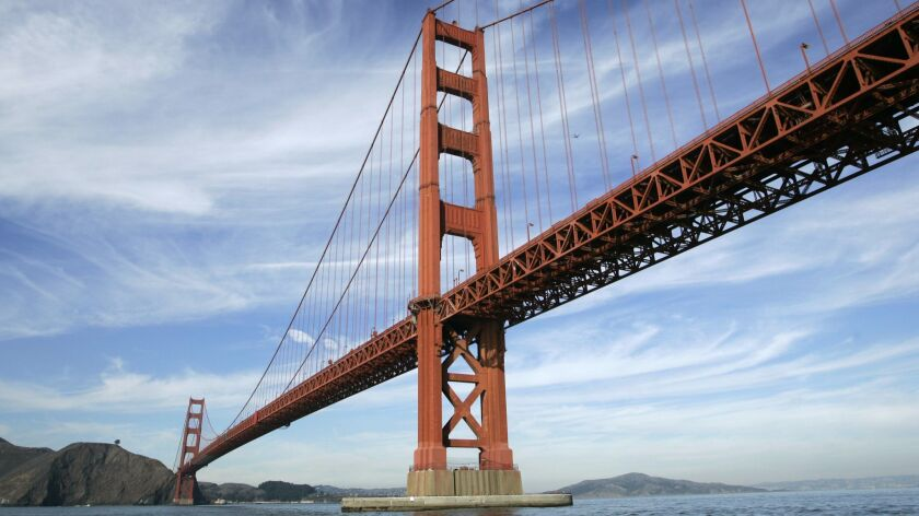 The Golden Gate Bridge is shown in San Francisco, Wednesday, Nov. 15, 2006. To offset an $87 million
