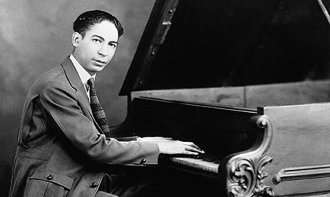 Jelly Roll Morton played to full houses between 1917 and 1922 at the Cadillac Cafe on Central Avenue.