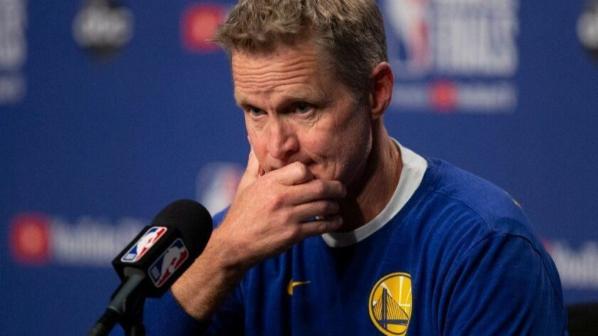 Steve Kerr knows his Monty Python movies