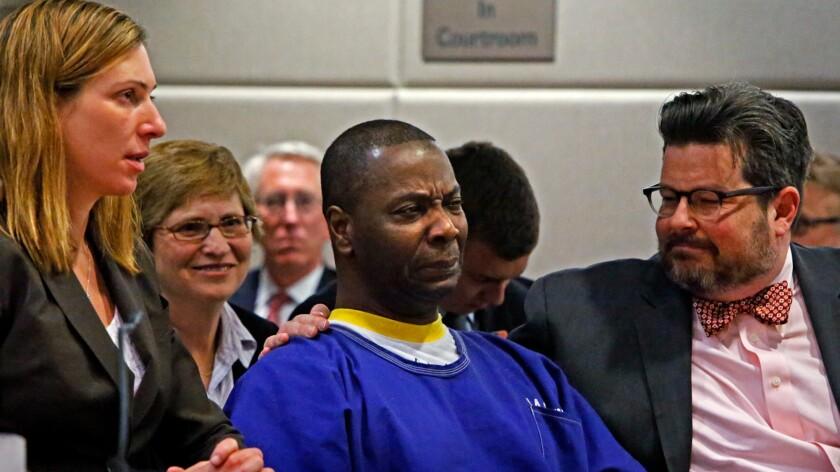 Innocent man freed