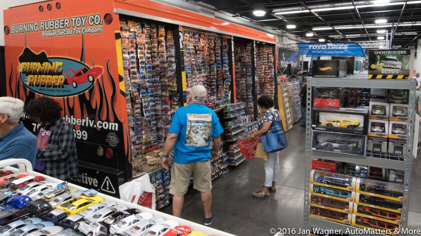 Burning Rubber Toy Company in the vendor area