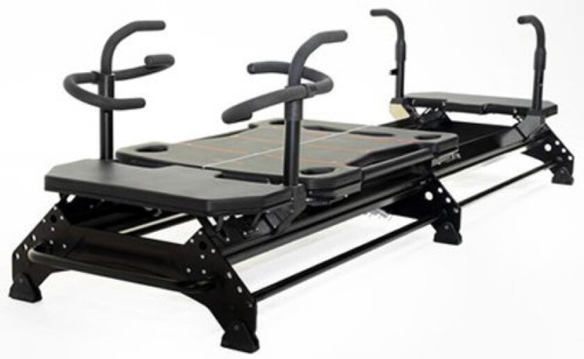 Pilates Plus in La Jolla is equipped with 10 Megaformer M3-S Pilates workout machines. (Courtesy Photo)