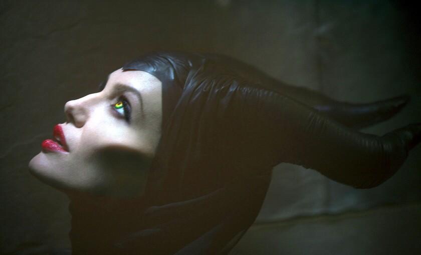 "Angelina Jolie stars in ""Maleficent."""