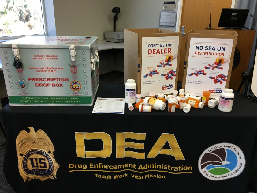 The county is encouraging residents to properly dispose of unneeded medication on Saturday