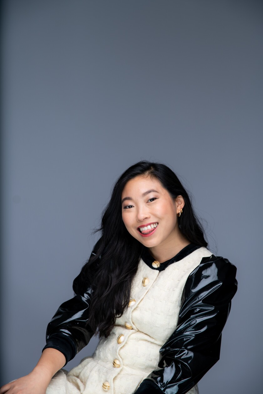 Awkwafina stars in Lulu Wang's 'The Farewell,' which is nominated for two Golden Globes.
