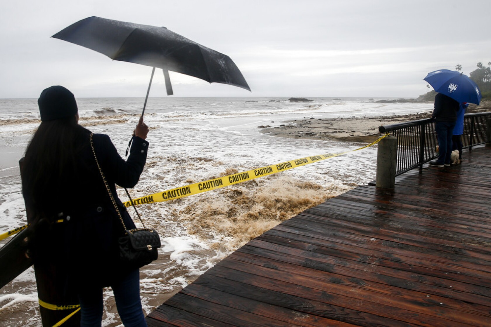 Monster storm pummels California, prompting evacuations amid