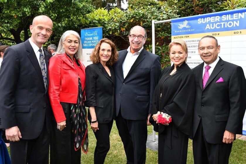 Mario and Linda Sierra, Linda and Mel Katz, Lidia S. Martinez and Dr. Ted Martinez Jr.