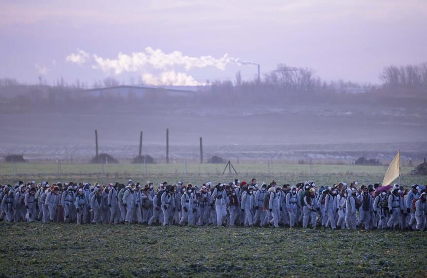 APTOPIX Germany Climatew Protest