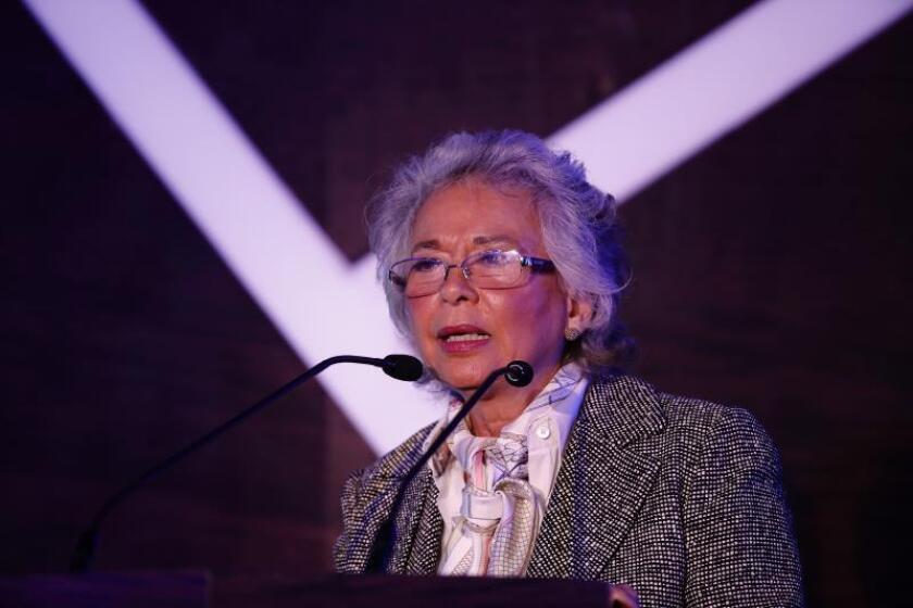 La titular de Gobernación de México, Olga Sánchez Cordero. EFE/Archivo