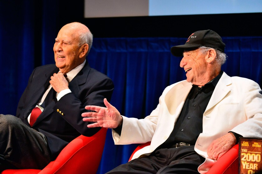 #ComedyFest Kick-Off With Mel Brooks, Carl Reiner and Judd Apatow