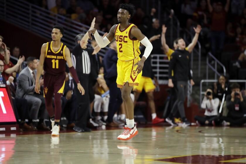 Arizona St USC Basketball