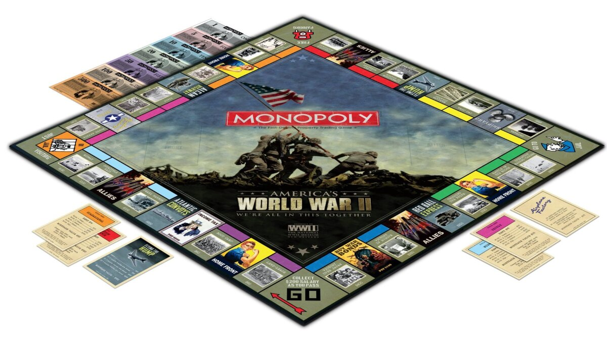 World War II comes home -- as a board game - The San Diego