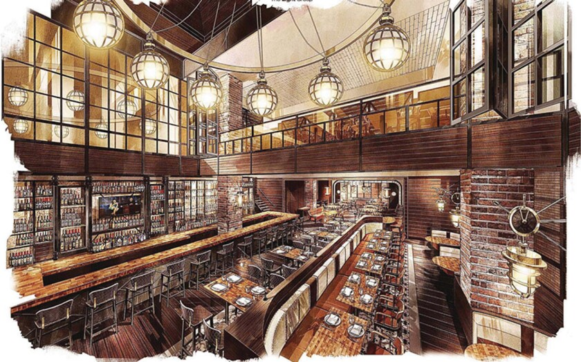 Lionfish is slated to open inside the Pendry San Diego hotel in December. (Courtesy rendering)
