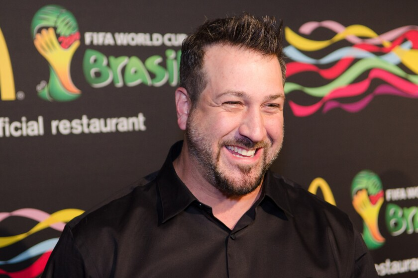 """Live Well featured more than a dozen original shows, including """"My Family Recipe Rocks,"""" hosted by former *NSYNC member Joey Fatone."""