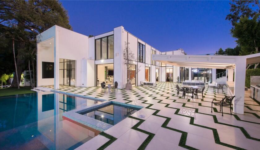 Ariadne Getty's former Beverly Hills home