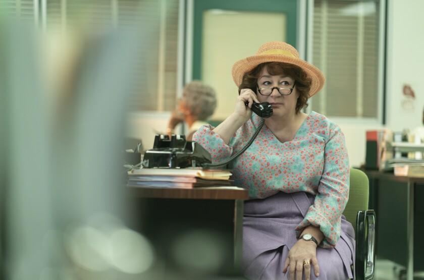 "Margo Martindale as Bella Abzug in ""Mrs. America."""