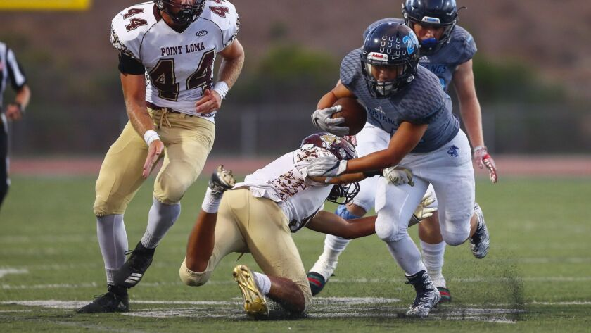 Otay Ranch RB Noah Isley will try to elude the Steele Canyon defense in Friday's nonleague game.