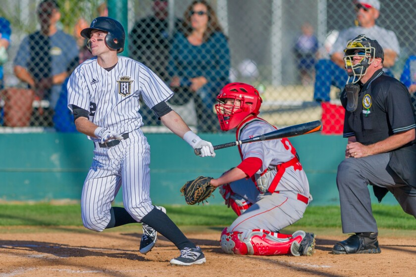Servite's Aaron Simpson came into this week batting .381 with seven doubles, 15 RBIs and six stolen bases.