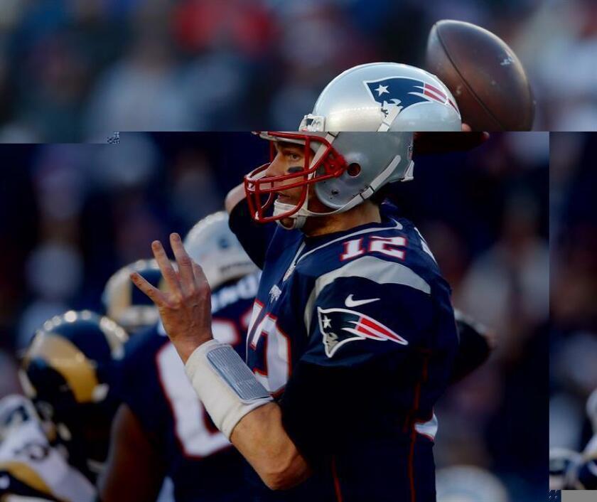 El quarterback New de los England Patriots, Tom Brady. EFE/Archivo