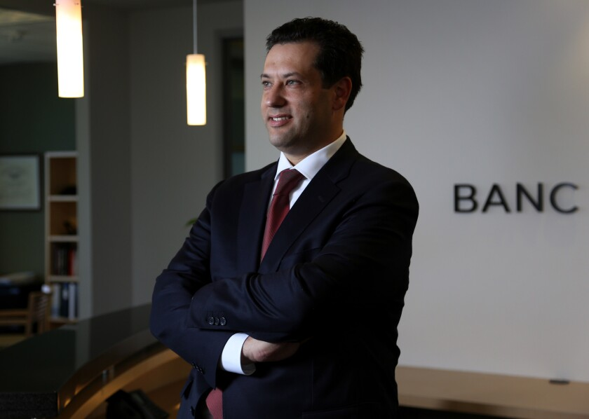 Steven Sugarman started three companies and worked for two more before becoming the CEO of fast-growing lender Banc of California -- all before he turned 40.