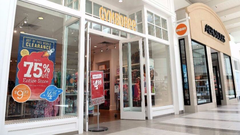 This Gymboree store in Manhattan Beach is not one of the approximately 350 that are set to shut down.