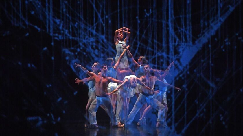 """Barak Ballet will perform 2017's """"E/Space"""" and other works at the Broad Stage in Santa Monica."""