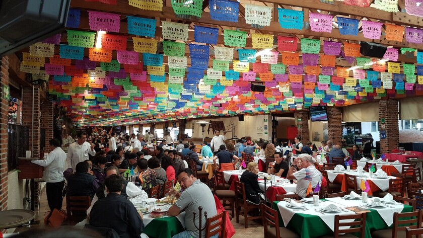 Arroyo Restaurant in Mexico City is the biggest Mexican restaurant on earth