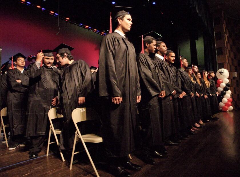 Monterey High School graduation