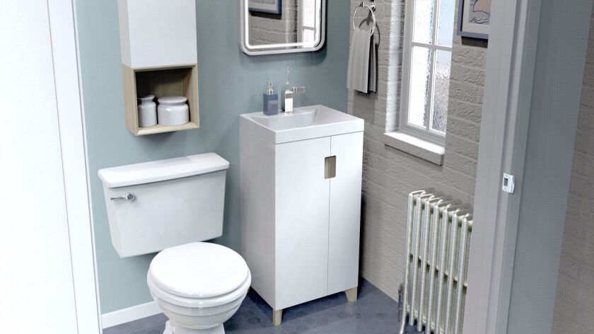 2. Small spaces deserve Ronbow stylish storage, too.