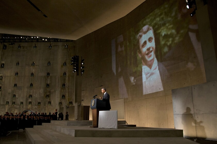President Obama speaks at 9/11 Memorial Museum dedication
