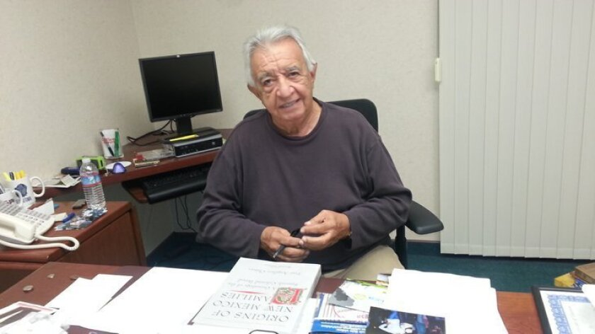 Former La Mesa Mayor Art Madrid is writing a book about his time as an elected official.