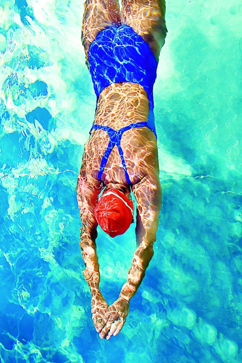 Swimming is a good, low-impact exercise to choose when starting a new workout routine. GETTY IMAGES