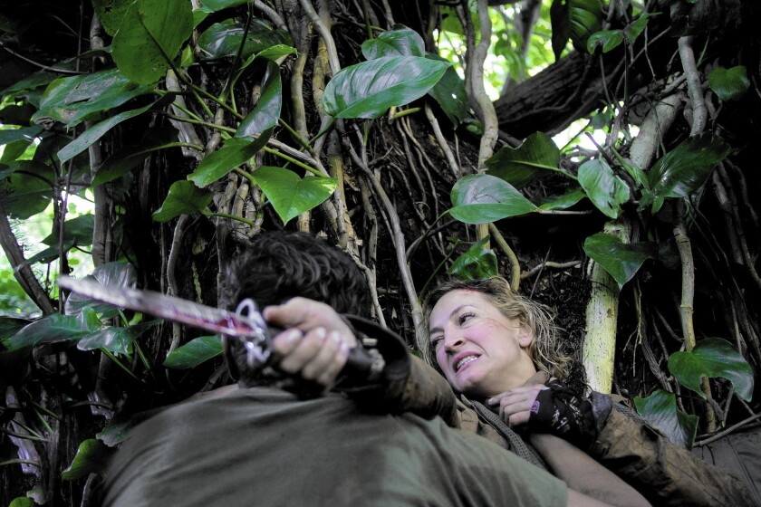 """Zoe Bell as war photographer Avery Taggert in """"Camino."""""""