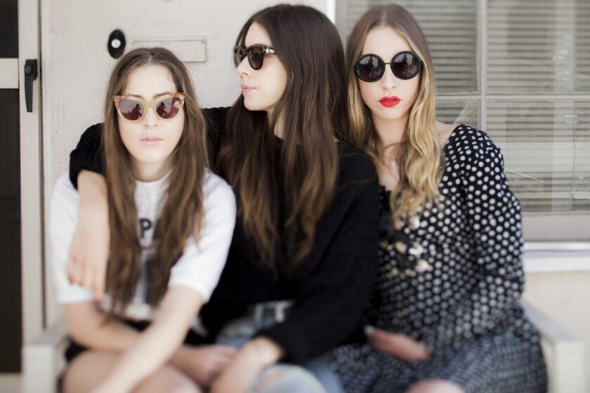 The three sisters of the band Haim burst into America's consciousness in 2013 on the wings of their infectious guitar pop.
