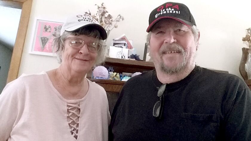 Former Burbank residents Sharron and Michael Tipton are retired and living in Carson City Nev. (Cour