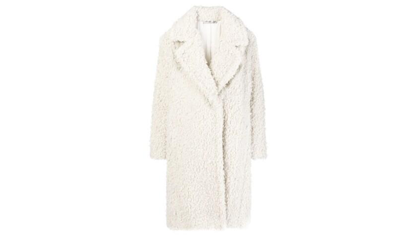 Vince. Faux Fur coats for Image section essentials.