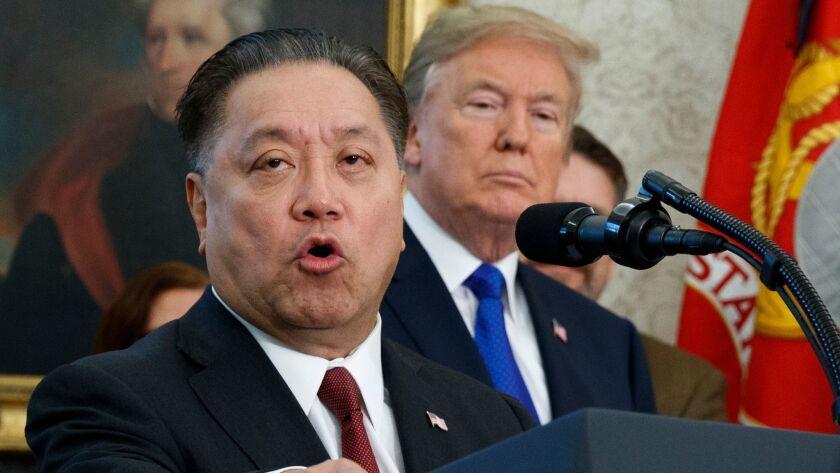 Hock Tan, Donald Trump