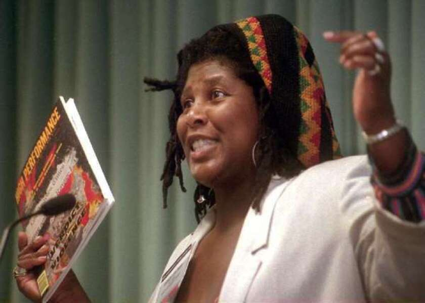 """Wanda Coleman, the """"unofficial poet laureate of Los Angeles,"""" died Friday at the age of 67."""