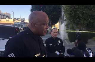 Police kill man in stabbing rampage on Sunset Boulevard in Hollywood